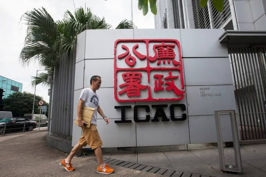 Hong Kong's Independent Commission Against Corruption charges insurance company ex-manager with money laundering of over $640,000